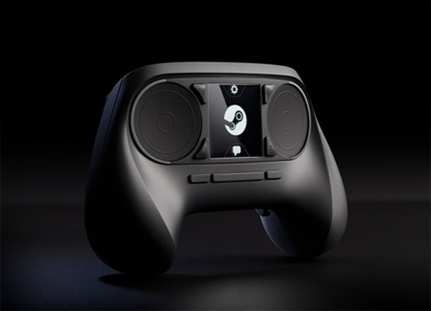 Valve unveils awkward-looking game controller, to be compatible with all Steam games