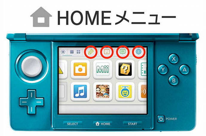 Nintendo 3DS in-game menu: notes, friends and more explained