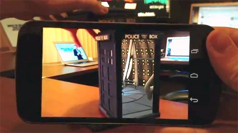 Mini TARDIS really is bigger on the inside, thanks to augmented reality (video)