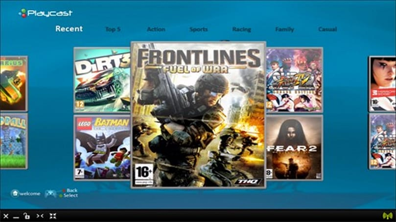 Playcast aiming for Q1 2013 US launch of cloud-gaming service