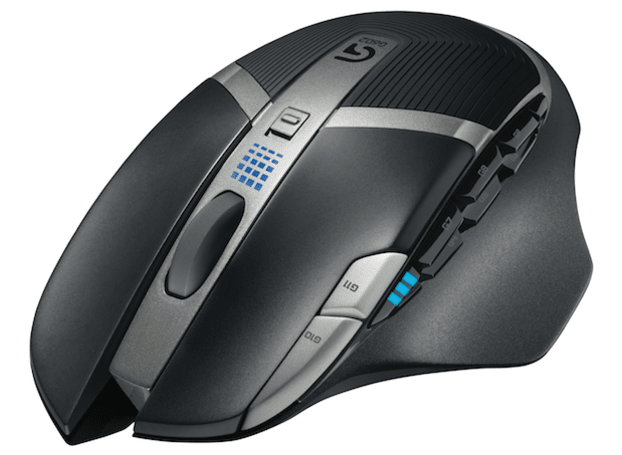 Logitech's G602 wireless gaming mouse packs massive battery life, 11 programmable buttons