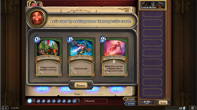 Hearthstone upcoming changes