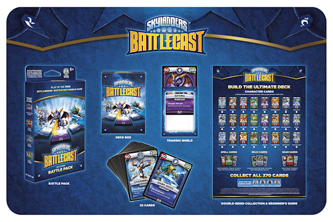 'Battlecast' turns 'Skylanders' into a collectible card game