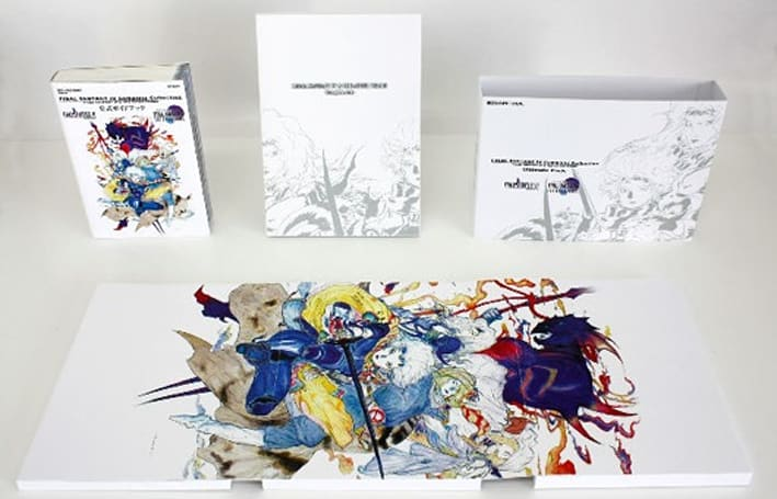Final Fantasy IV Complete Collection's classy collector's compilation catalogued