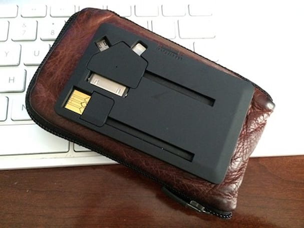 Jumper Card puts power and sync into your wallet without emptying it