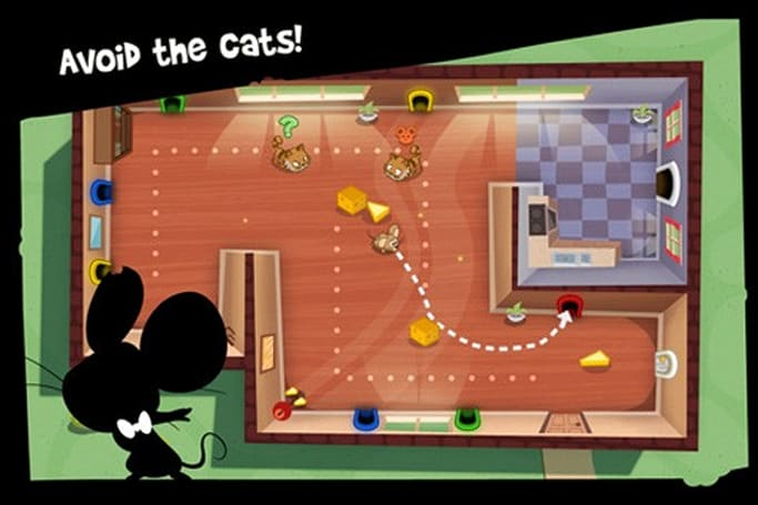 Spy Mouse is Firemint's latest iOS joint, available now
