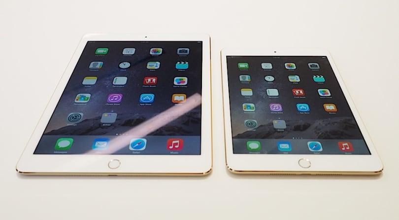 A first look at the iPad Air 2 and iPad mini 3