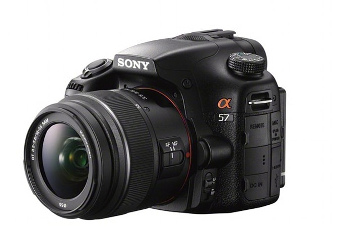 Sony outs Alpha A57 translucent mirror camera with 12fps shooting, improved autofocus system