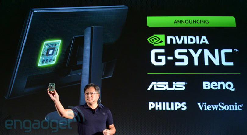 NVIDIA's G-Sync is a module for gaming monitors to alleviate screen tearing (update: video demo!)