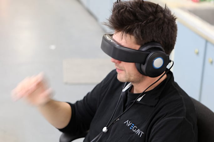 Avegant tests Glyph wearable display prototype, on track for CES debut