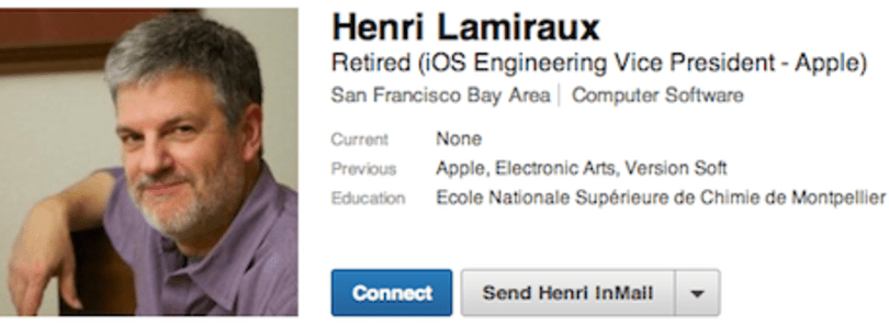 Senior iOS Engineering VP Henri Lamiraux leaves Apple