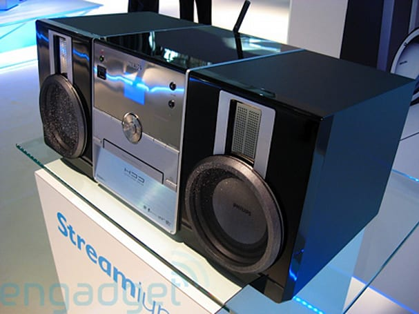 Hands-on with the Philips WAC3500D Streamium home stereo