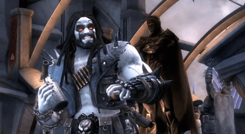 Lobo trounces Flashpoint Batman in first Injustice: Gods Among Us DLC footage [Update: Lobo on May 7]