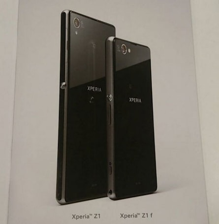 This could be Sony's Xperia Z1 'mini': a 20.7-megapixel camera and Snapdragon 800 in a 4.3-inch package