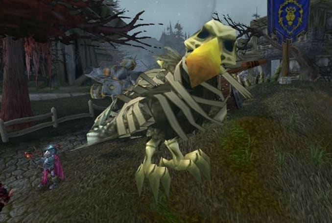Angry Birds: Warcraft?