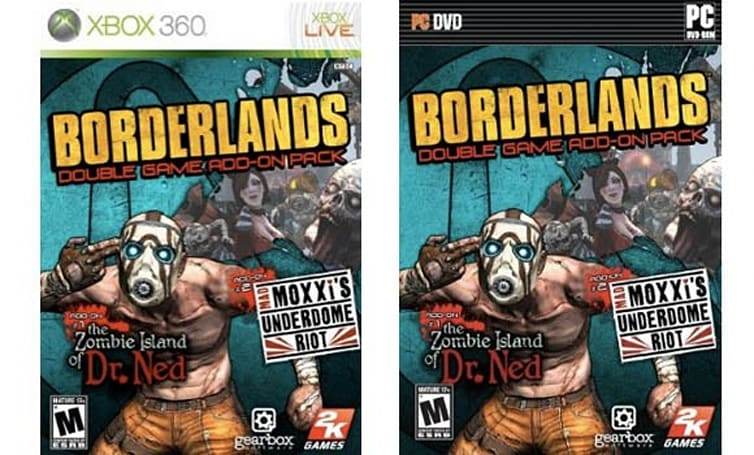 Borderlands 'Double Game Add-on Pack' arrives April 6 in NA, April 9 'internationally;' not coming to PS3