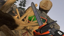 Live out your lumberjack dreams in a VR chainsaw simulator