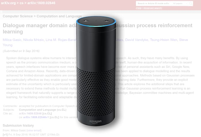 Alexa gets meta, finds you the latest AI research