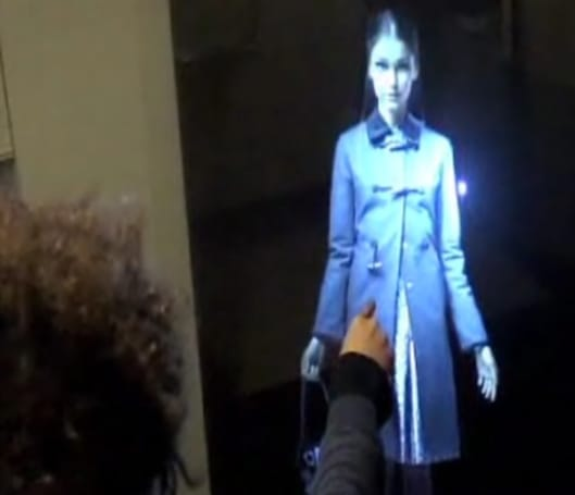 Video: LM3Labs' AirStrike interactive holograms, because they can