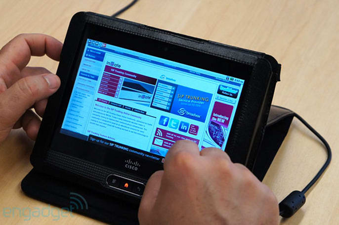 Cisco drops Cius tablets after the BYOD crush, plans upgrade to Android 4.0 out of kindness