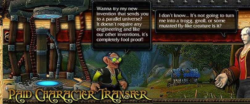 Paid character transfers time restrictions slashed