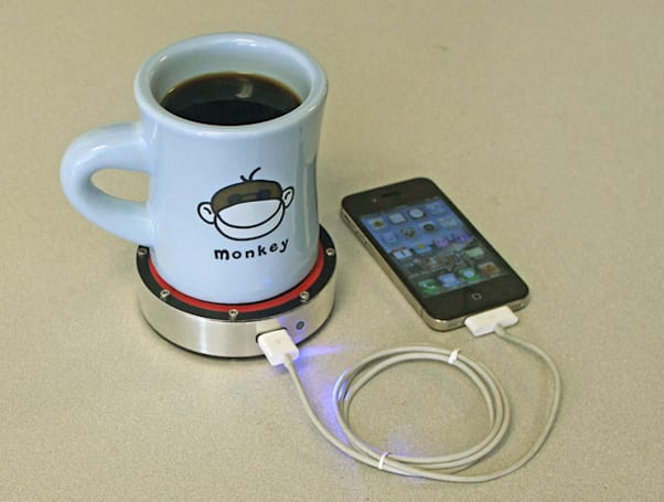 Insert Coin: Epiphany One Puck uses heat transfer to charge your phone