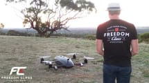 Freedom Class Giant Drone Racing: Dicke Brummer am Himmel
