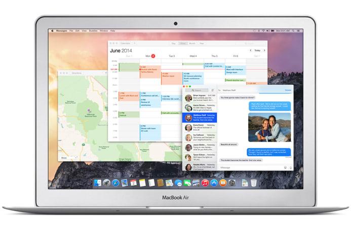 A visual history of OS X