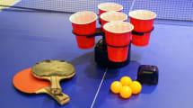 Trinkspiel-Roboter soll Staubsauger vor Bierschwemme retten
