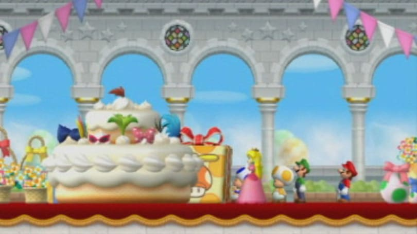 This is the story of New Super Mario Bros. Wii