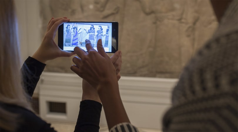 Google Tango AR takes you inside a mummy's sarcophagus