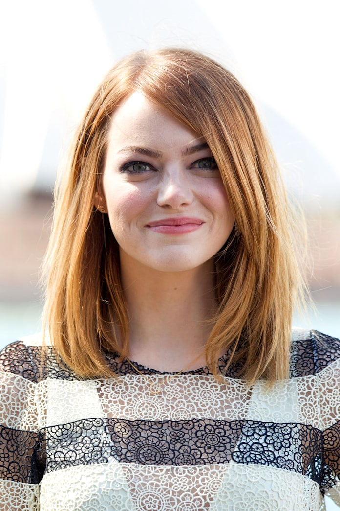 Look of the week: Emma Stone is a redhead again, and we love it