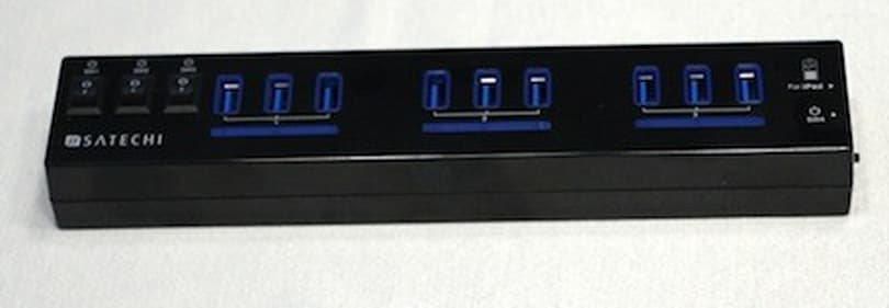 Satechi 10-Port USB 3.0 Hub delivers the goods in a fast package