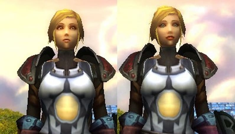 Human Females trade faces on the PTR