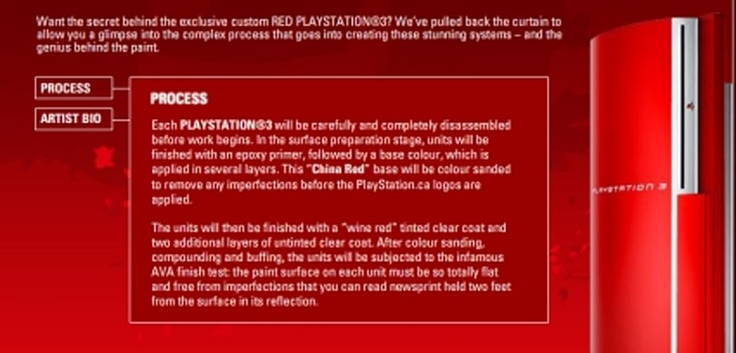 Canadians get a crack at a red PS3