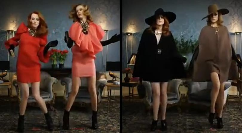 Dance Central choreography featured in fashionable Lanvin ad