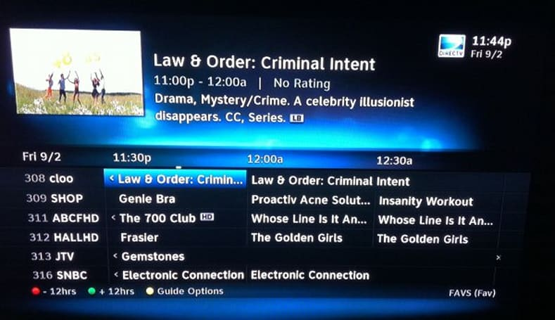 DirecTV's new HD UI revealed to testers, is prettier and faster than the current one