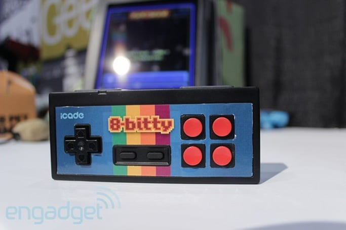 iCade 8-Bitty hands-on (video)