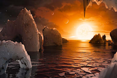 NASA: We found 7 Earth-sized planets just 40 light years away