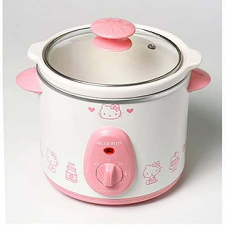 Hello Kitty gets her own crock pot