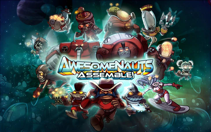 Awesomenauts Assemble! on PS4 March 4