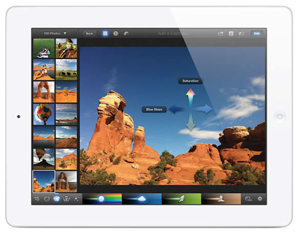 Switched On: The iPad's landscape orientation
