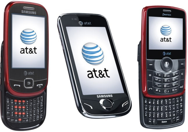 AT&T touts Opera-powered full web browsing with new phones from Samsung and Pantech