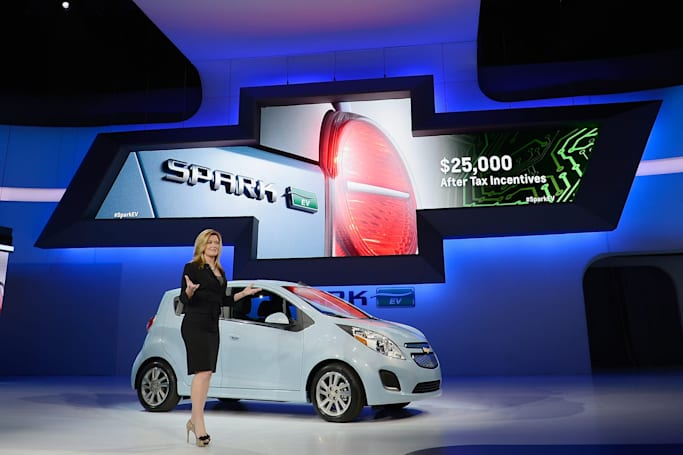 Chevy stops making the Spark EV following the Bolt's arrival