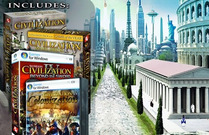 'Civilization 4: The Complete Edition' for $10 on Games for Windows Live