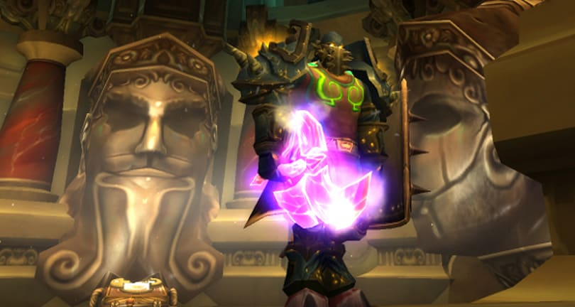 Warlords of Draenor: Vengeance is now Resolve