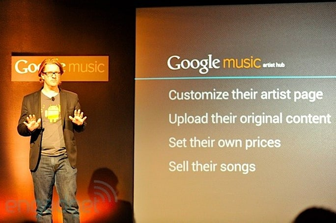 Google Music Artist Hub helps musicians promote, sell music (video)
