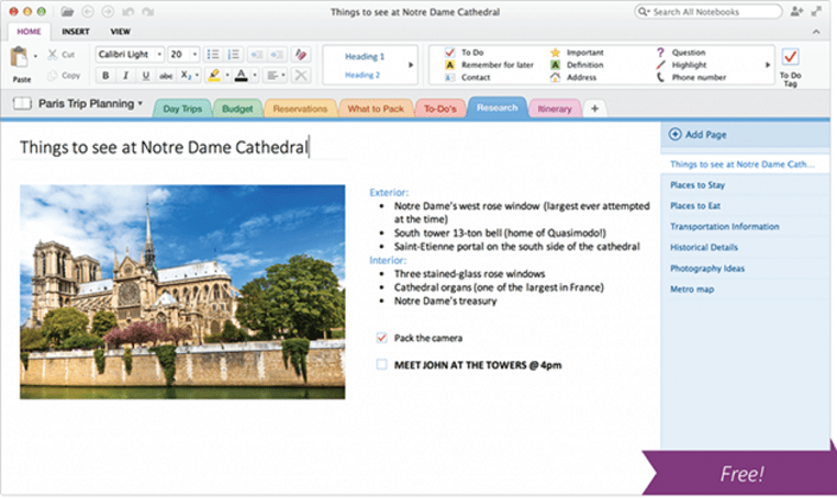 Microsoft's OneNote goes completely free, launches for Macs