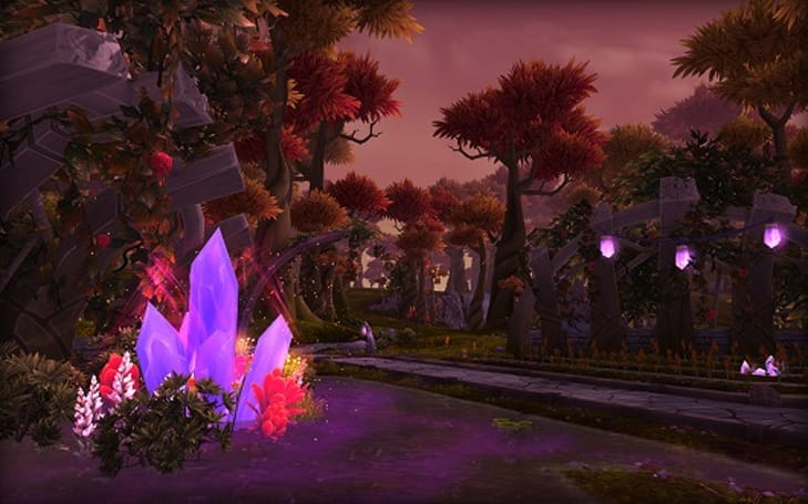 Warlords of Draenor's Talador is at the heart of the Draenei civilization