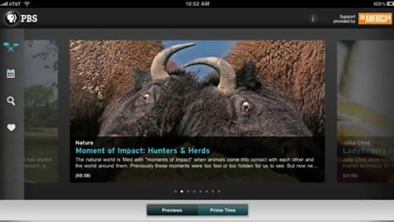Free PBS iPad app allows streaming of the network's content